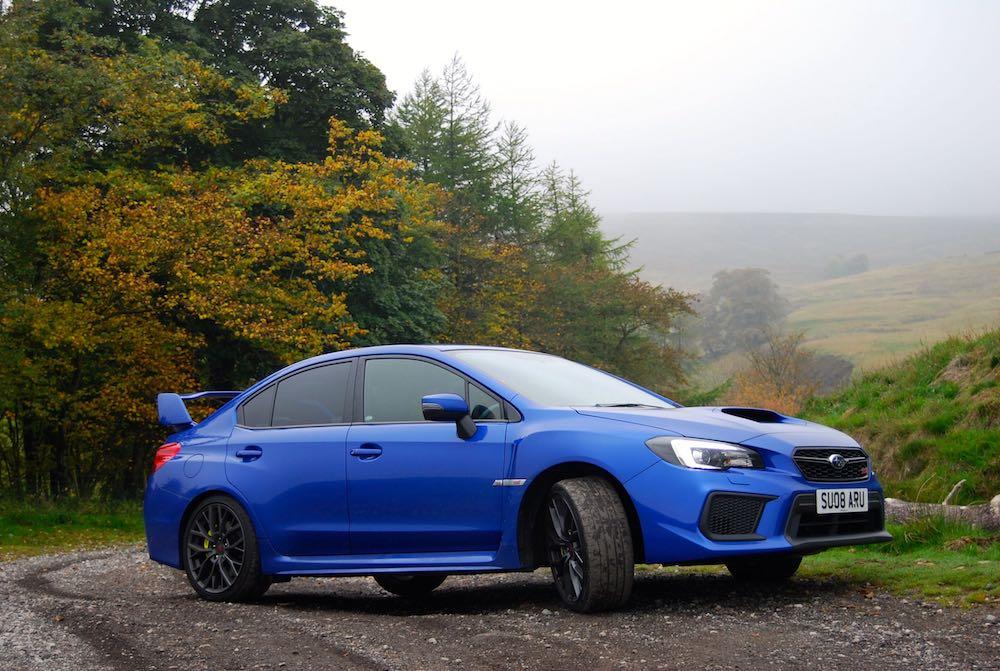 subaru wrx sti final editon blue rally slide review