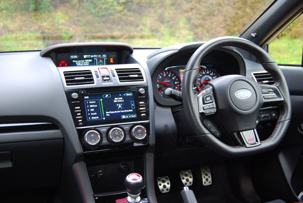 subaru wrx sti final editon interior review