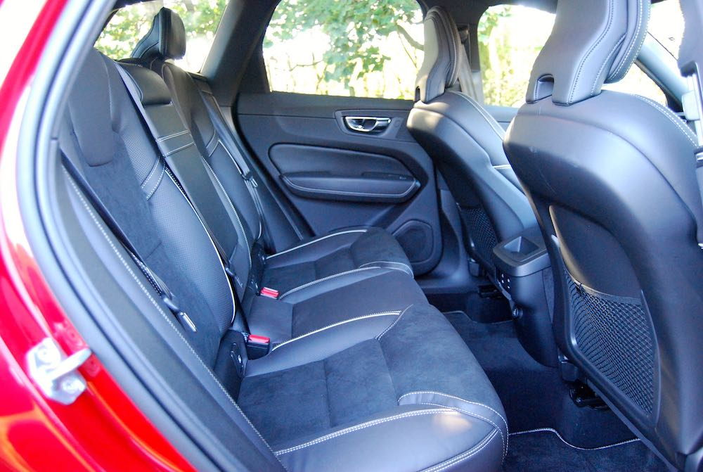 volvo xc60 rear seats review roadtest