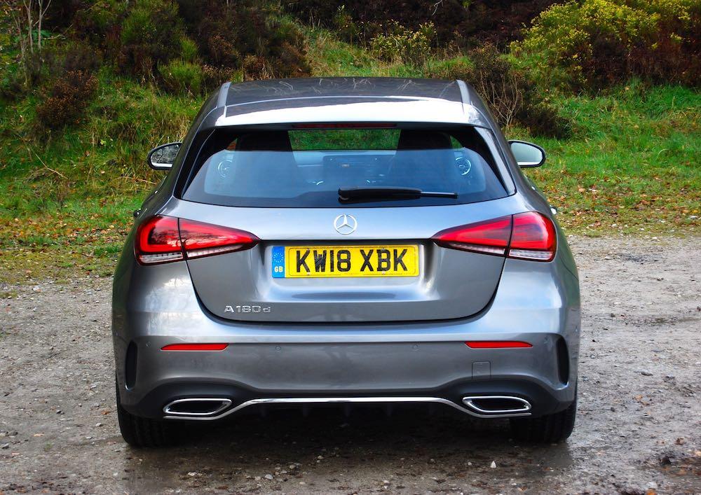 2019 mercedes benz a class rear grey review roadtest