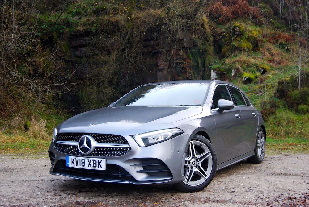 2019 mercedes benz a class review roadtest grey front side