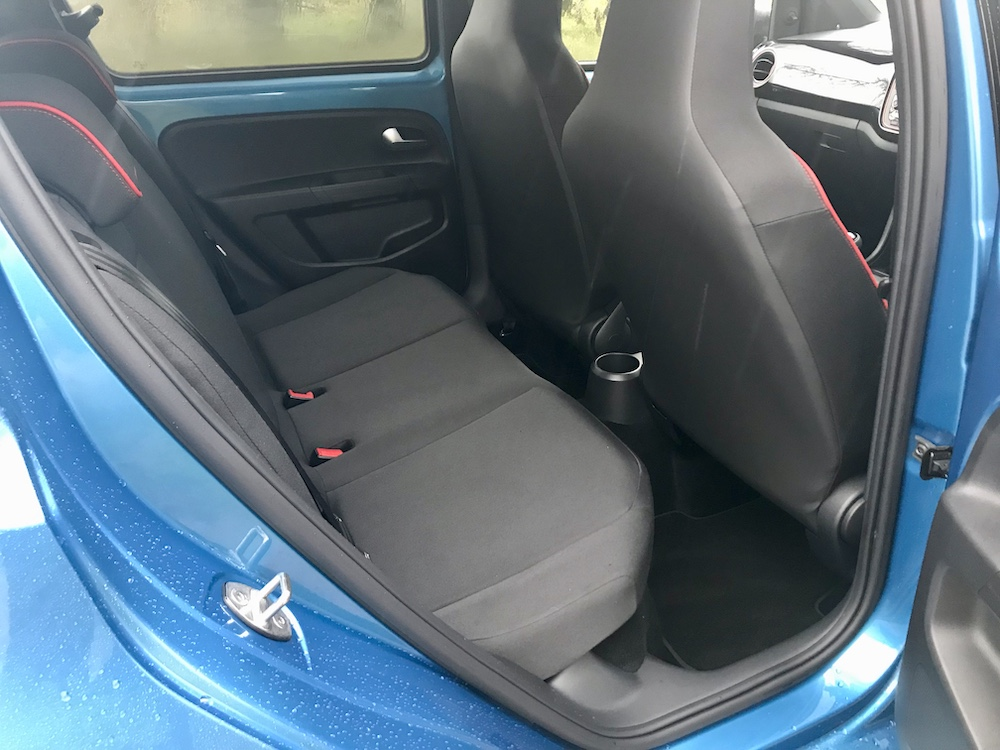 Seat Mii Fr line rear seats review roadtest