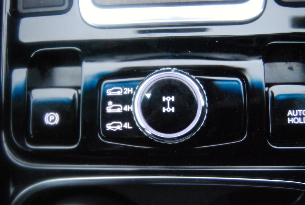 ssangyong rexton 4wd selector review