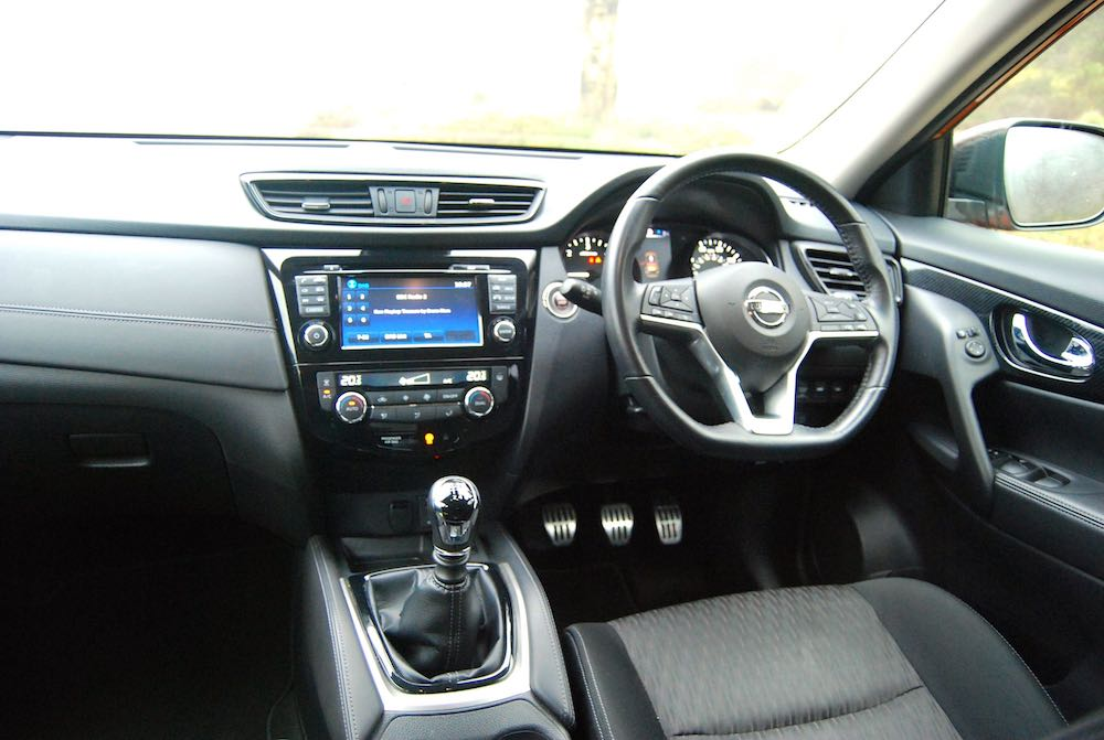 Nissan X-Trail cabin review roadtest