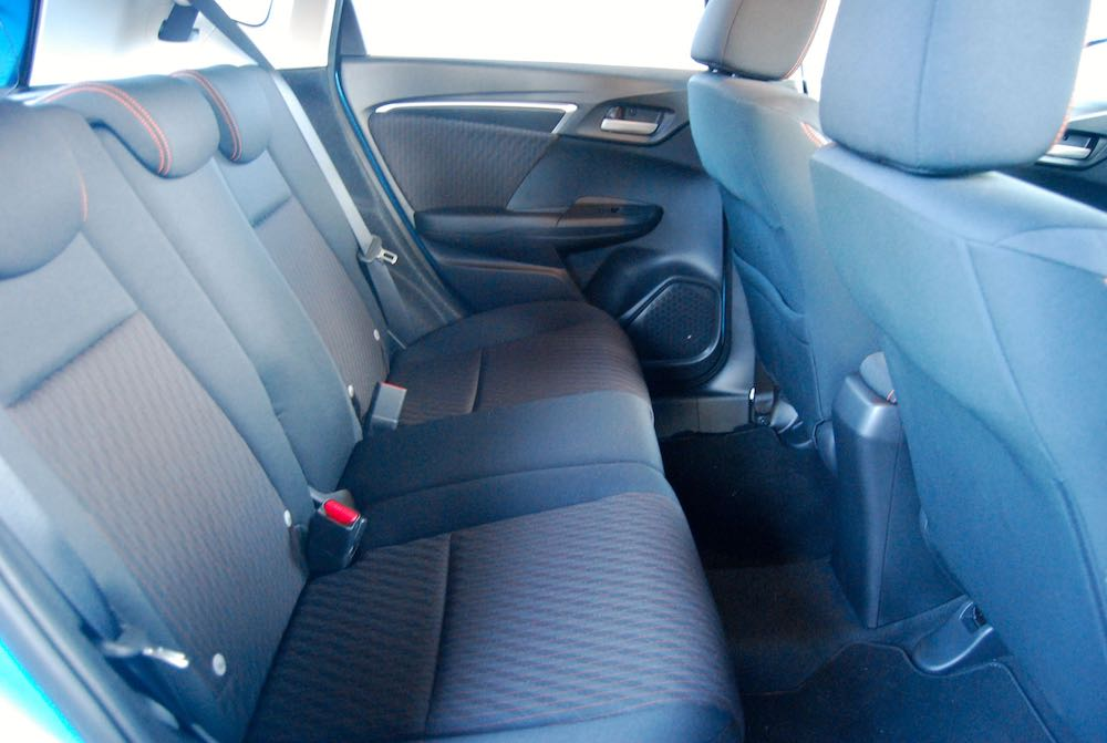 honda jazz sport rear seats 2019 review roadtest