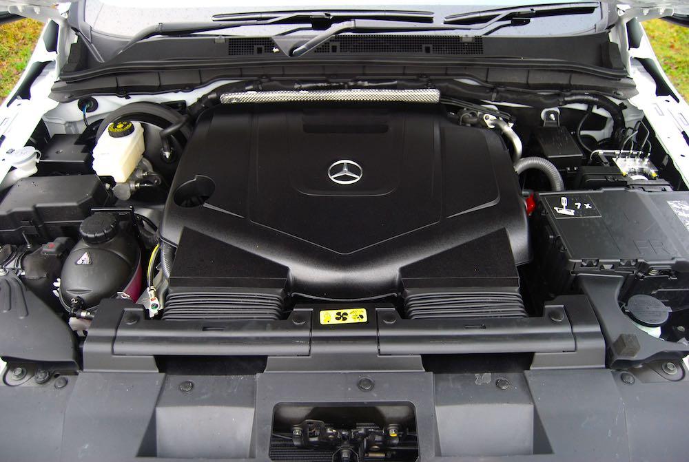 mercedes-benz x350d v6 engine review roadtest