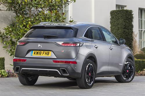 ds7 crossback performance line grey rear stationary review roadtest