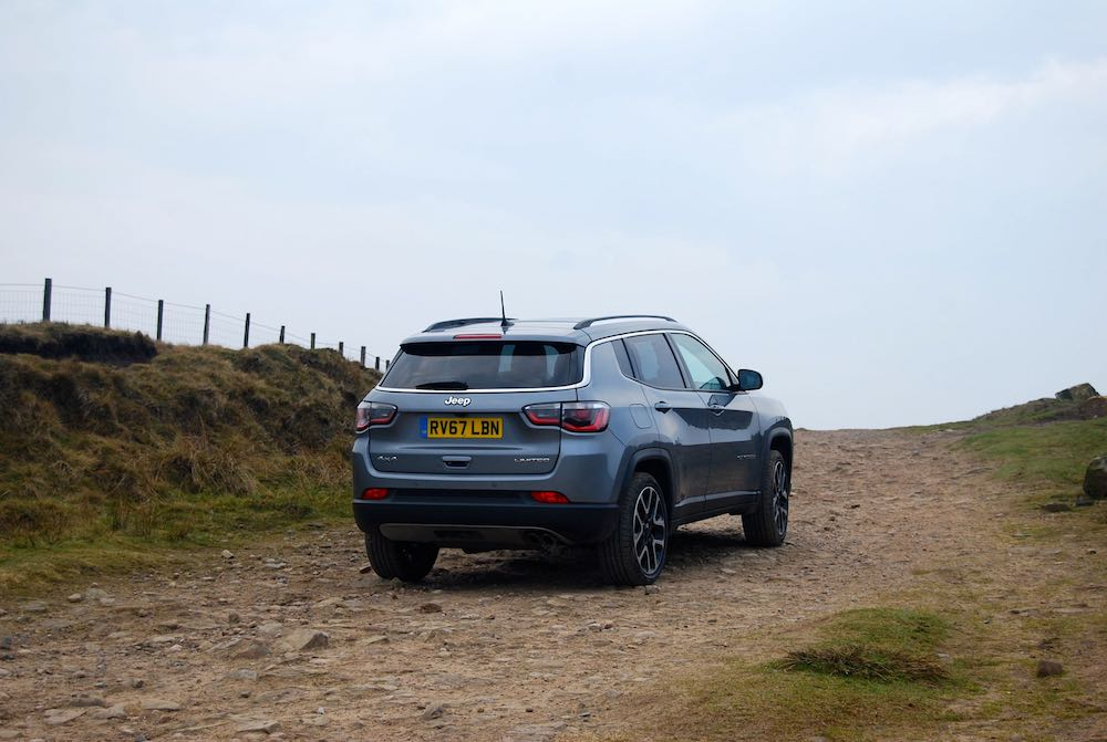 2019 jeep compass grey rear side review roadtest