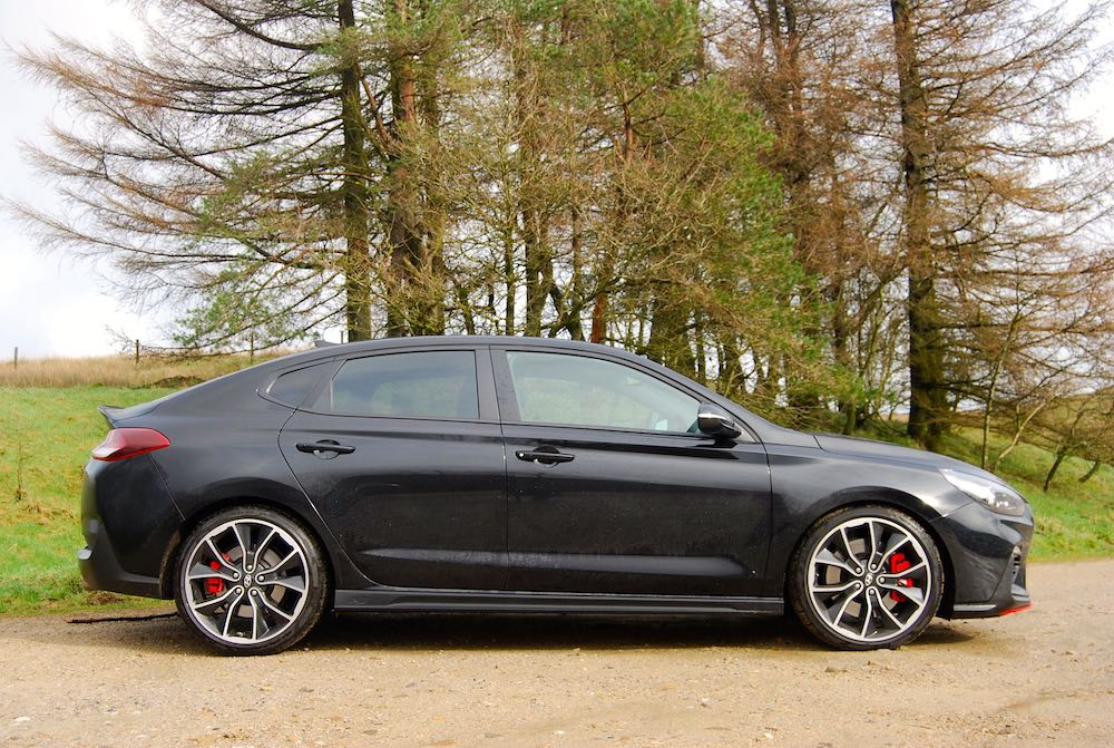 hyundai i30 fastback n black side review roadtest