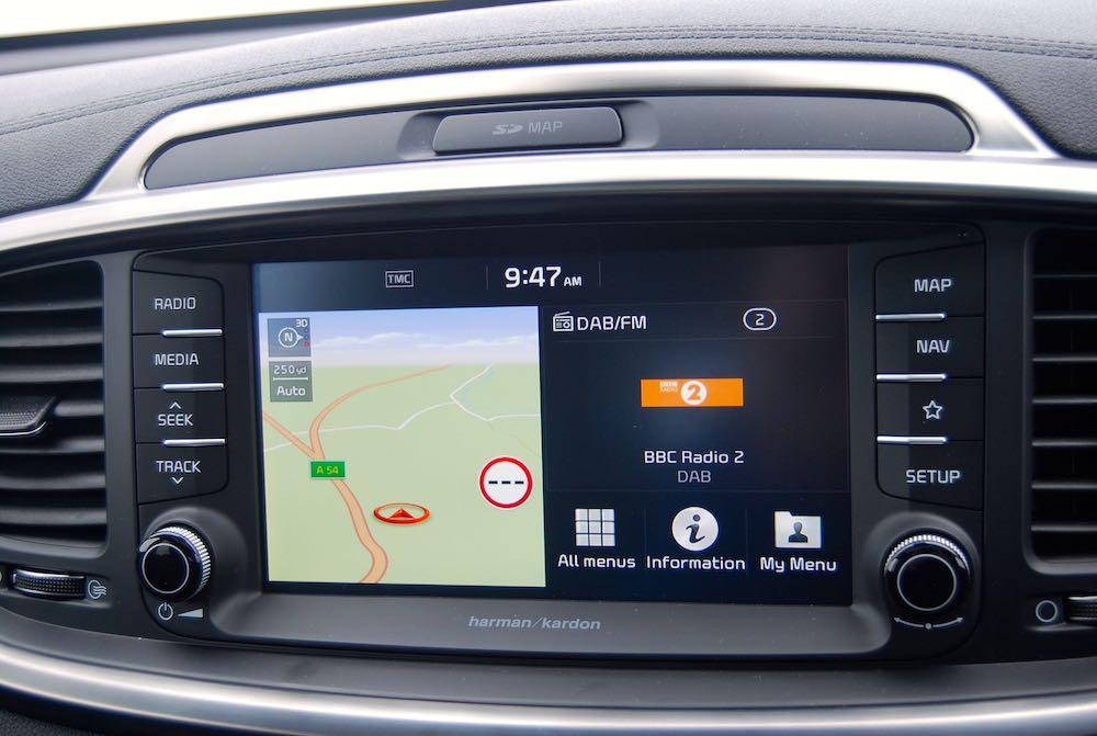 2019 kia sorento infotainment review roadtest