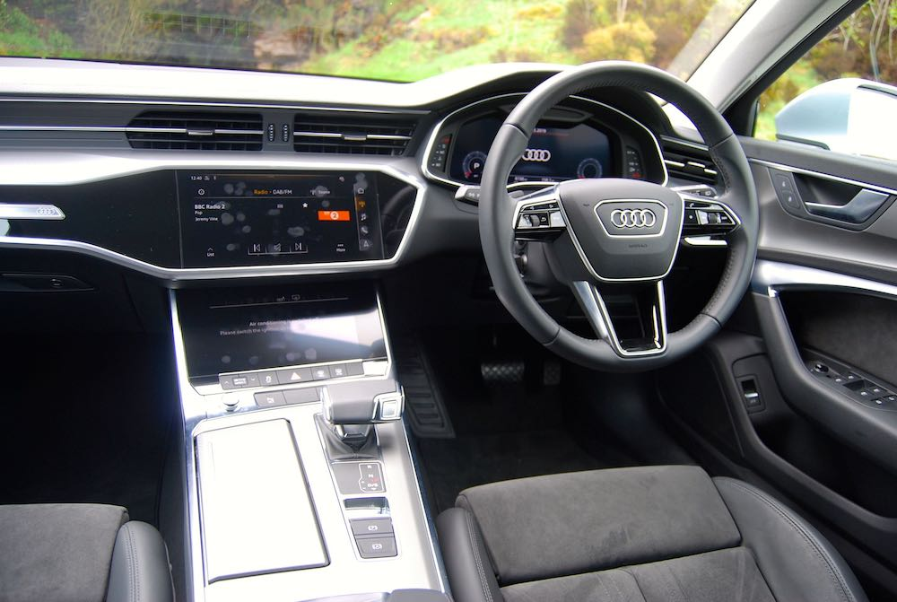 2019 Audi A6 Avant interior cabin review roadtest
