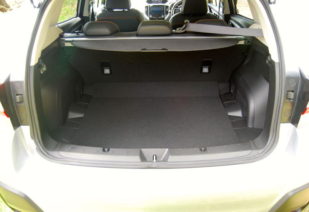 2019 subaru xv boot trunk review roadtest