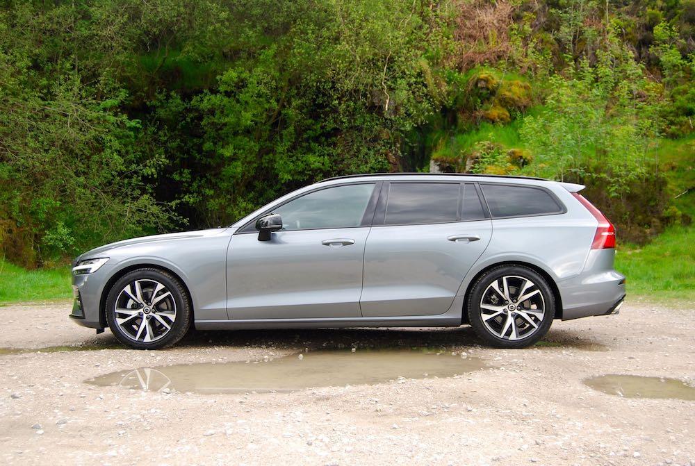 2019 volvo v60 r design side grey review roadtest