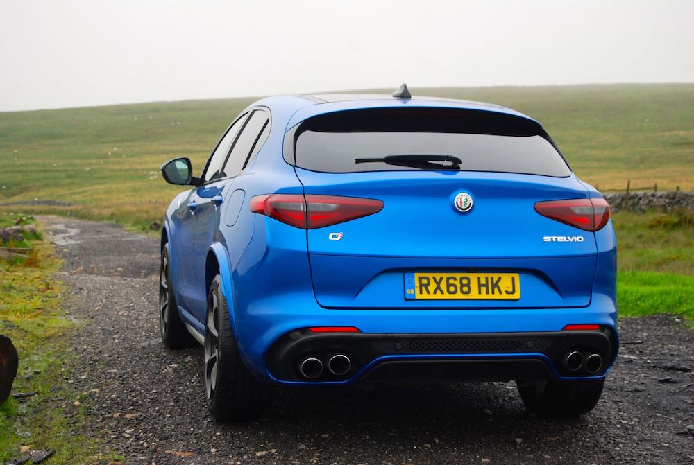 2019 alfa romeo stelvio quadrifoglio quad exhausts review roadtest