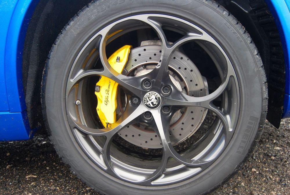 2019 alfa romeo stelvio quadrifoglio yellow brakes review roadtest