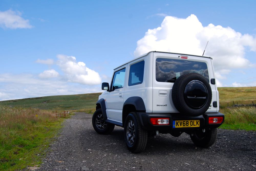 2019 suzuki jimny white rear off road review roadtest