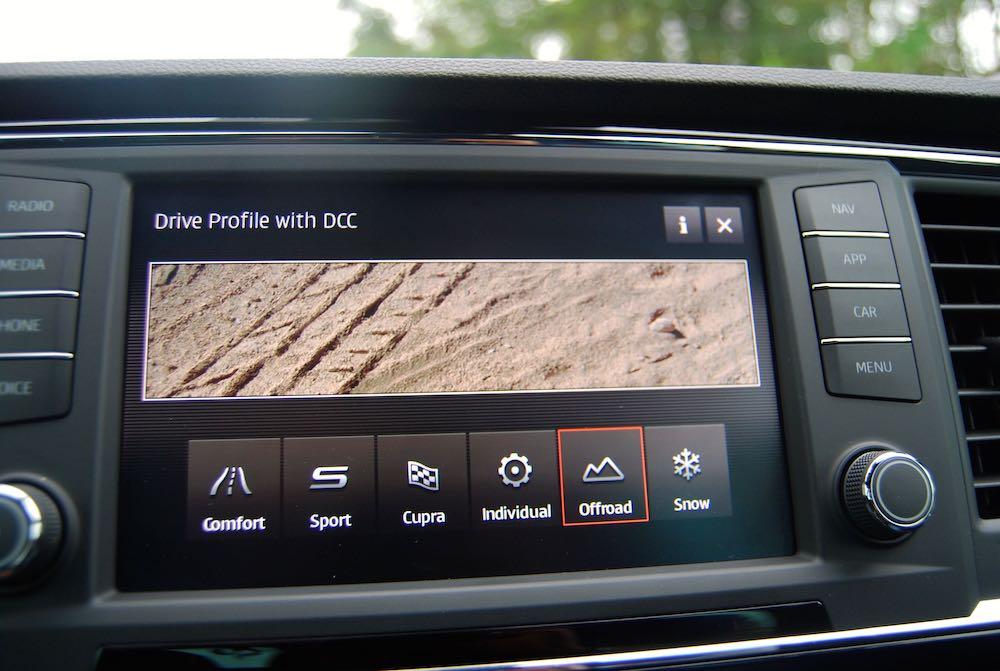 2019 cupra ateca offroad mode review roadtest