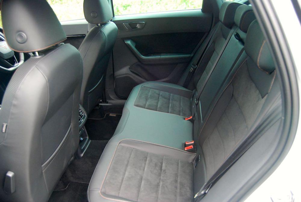 2019 cupra ateca rear seats review roadtest