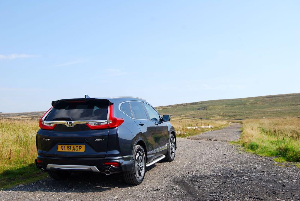 2019 honda cr-v rear side review roadtest
