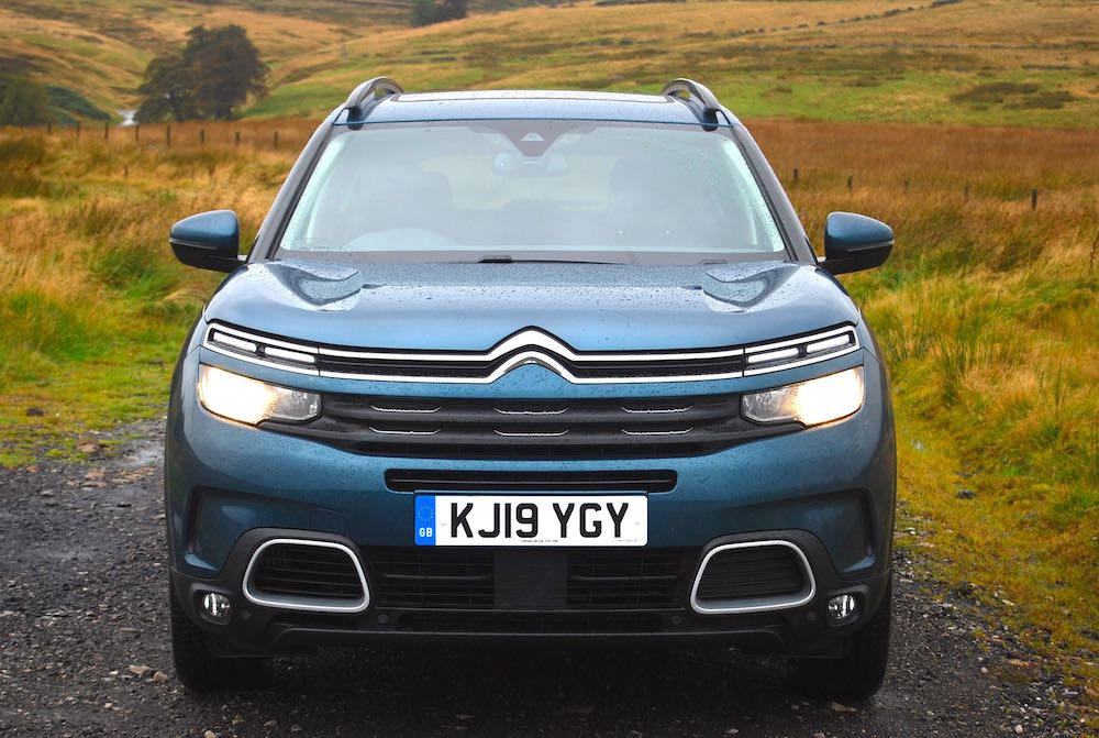 2019 citroen c5 aircross blue front review roadtest