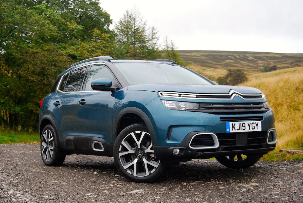 2019 citroen c5 aircross blue front side review roadtest