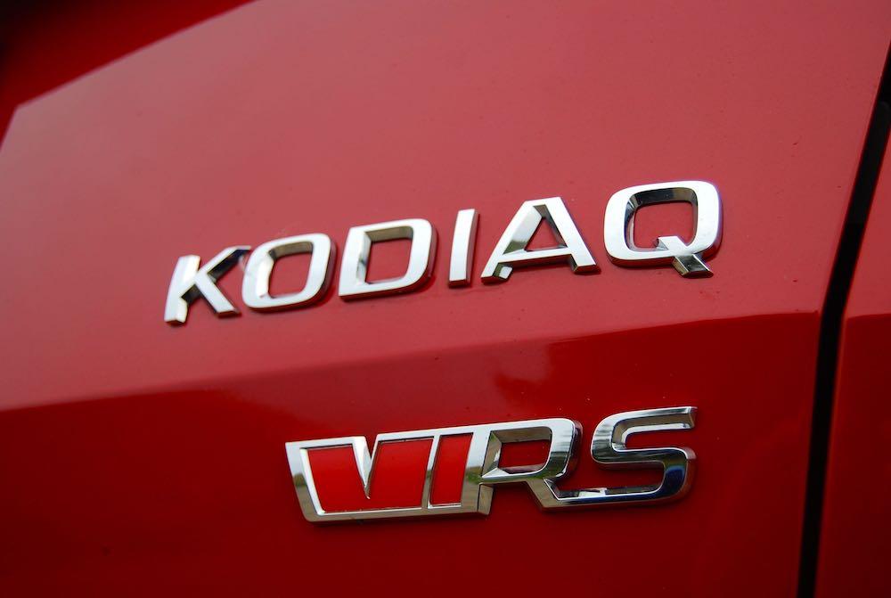 2019 skoda kodiaq vrs badge review roadtest