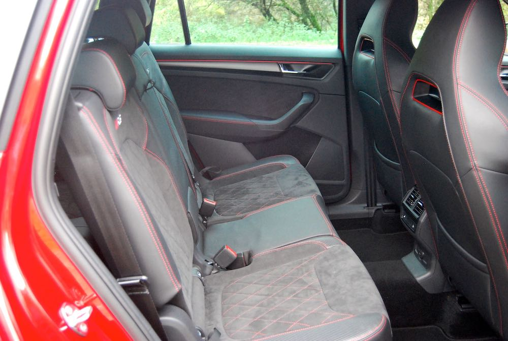 2019 skoda kodiaq vrs rear seats review roadtest