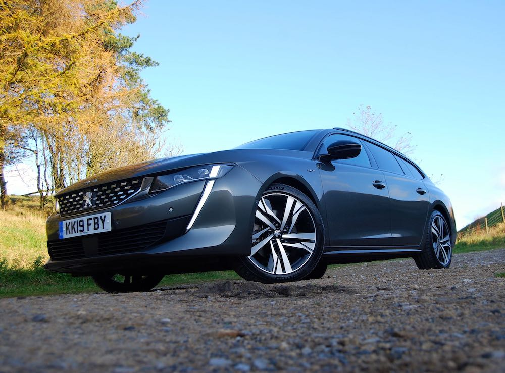 2019 peugeot 508 sw front low review roadtest