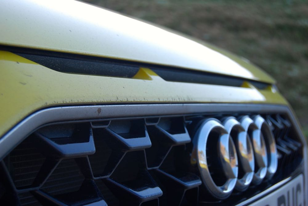 2020 audi a1 sportback yellow grille quattro review roadtest