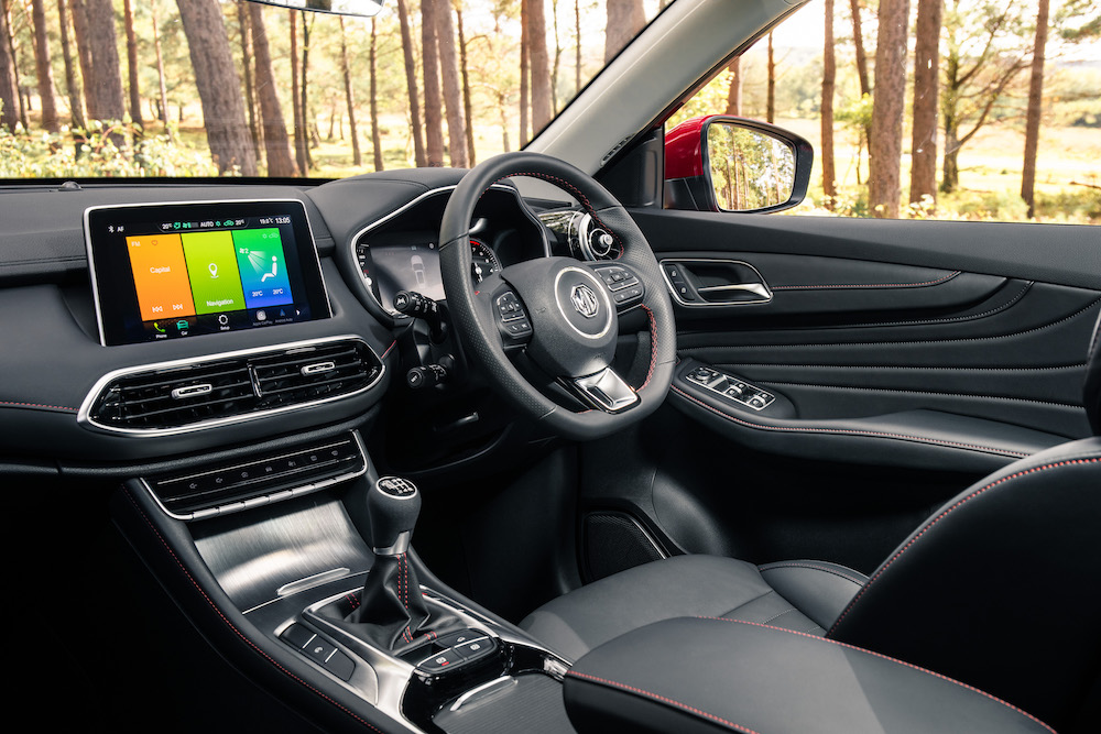 2020 mg hs interior cabin review roadtest