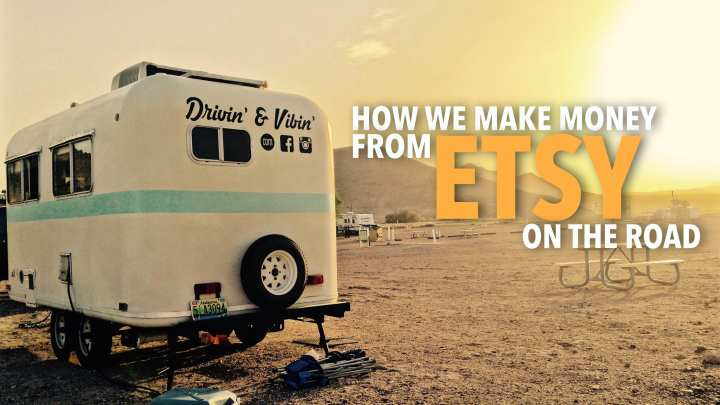 ETSY: a Source of Mobile Income for RVers