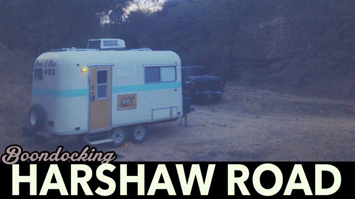 Boondocking – Harshaw Road in Patagonia, Arizona