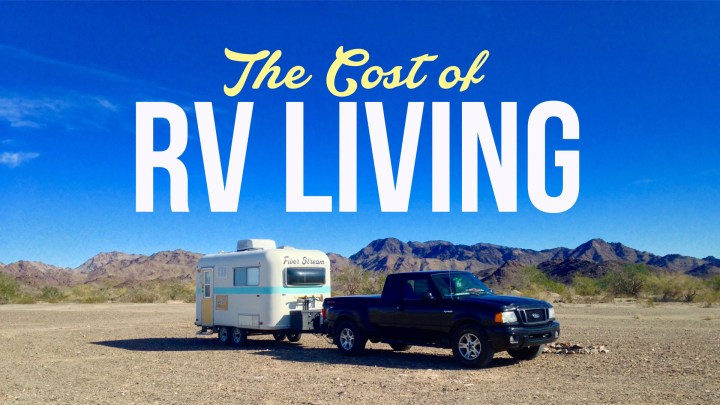 The Cost of RV Living – May 2016 Budget Results