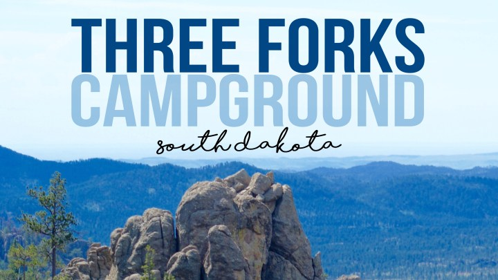 Three Forks Campground in Hill City, South Dakota