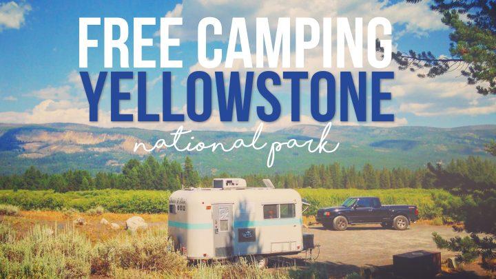 Free Camping at Yellowstone National Park