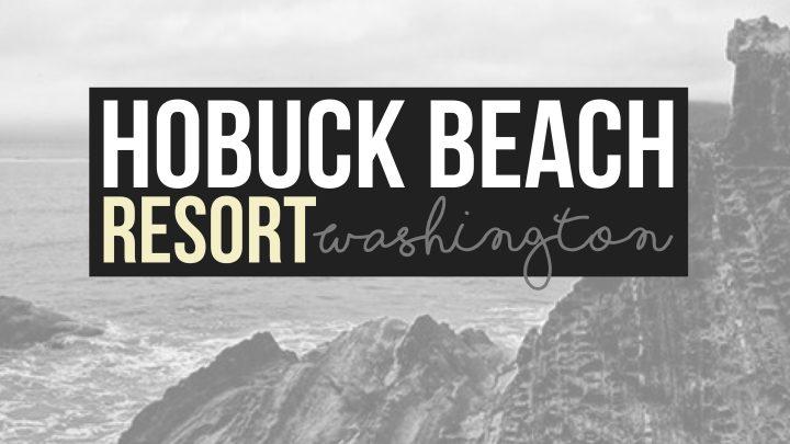 Hobuck Beach Resort at Makah Reservation, Washington