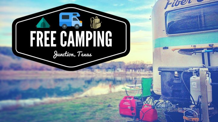 Free Camping in Junction, Texas