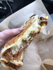 Quesadilla - Fiery Fungus - Highly Recommend!!