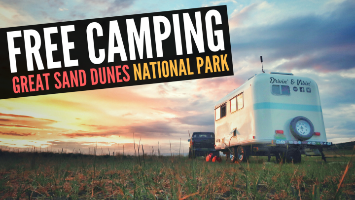 Free Camping at Great Sand Dunes National Park in Colorado