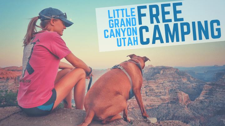 Free Camping at Little Grand Canyon, Utah