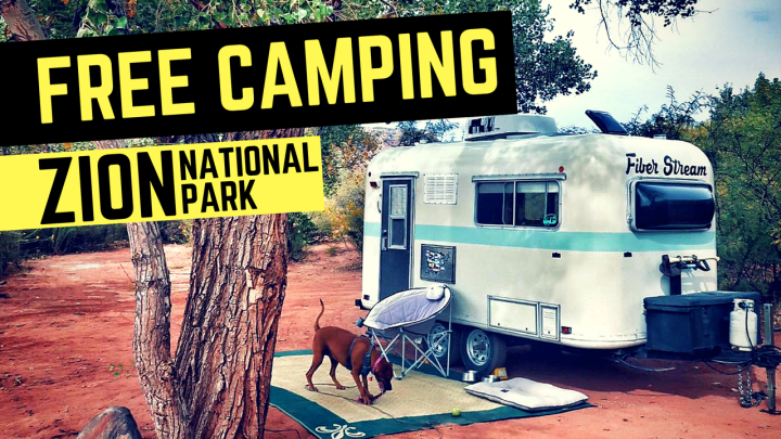 Free Camping for Zion National Park