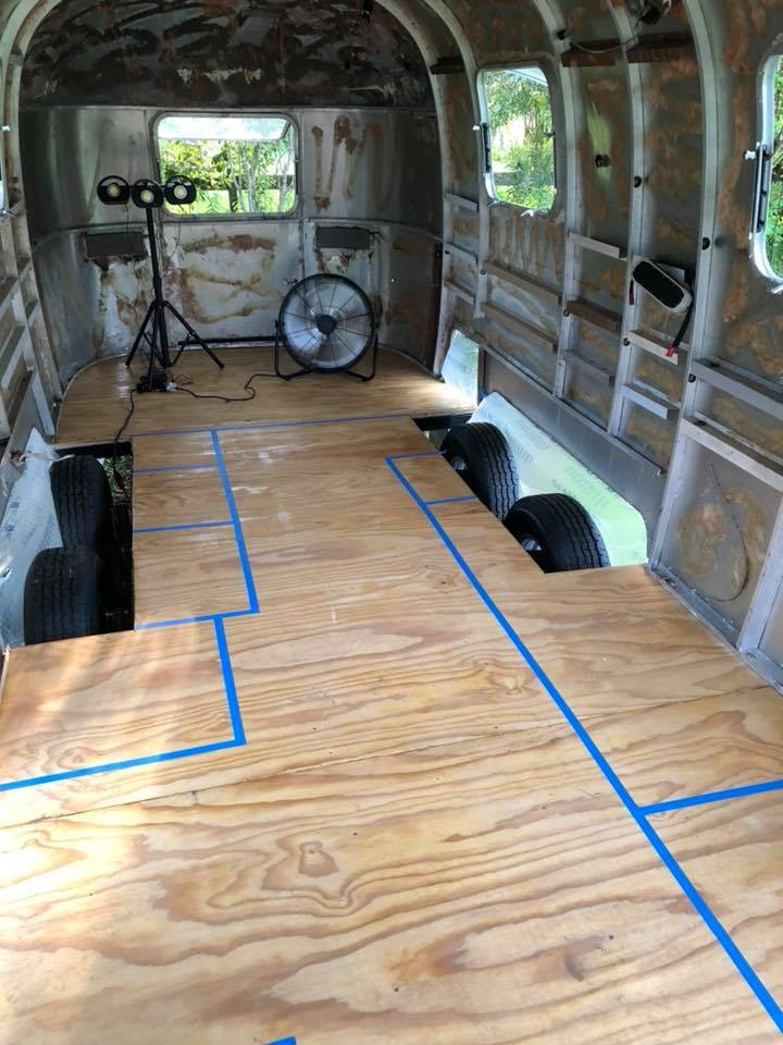 Airstream Renovation layout