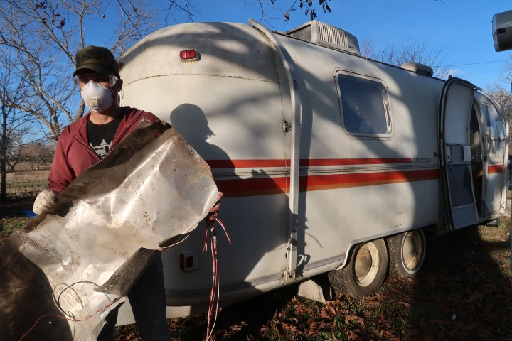 Airstream Renovation Demolition