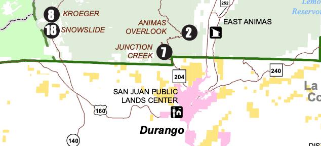 San Juan Forest - Junction Creek