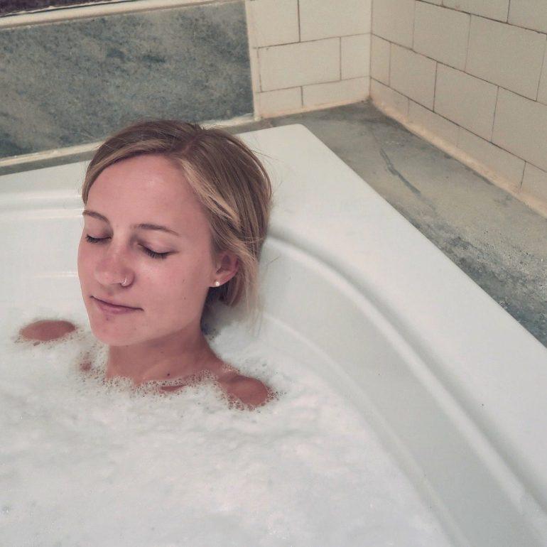 Bath House in Hot Springs Arkansas