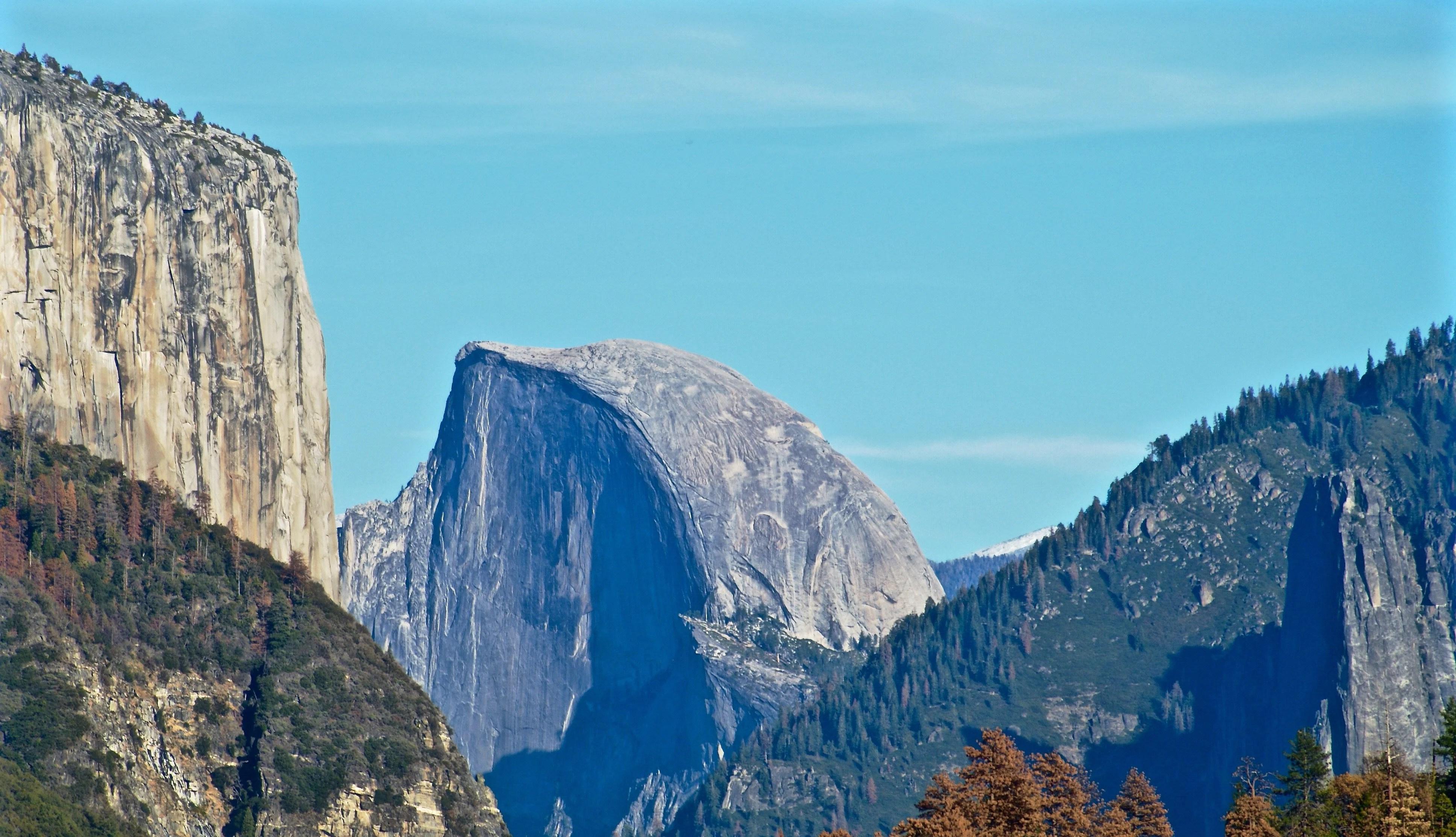 Half Dome - Yosemite Camping