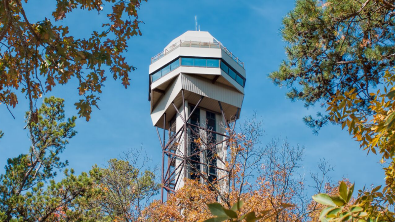 Lookout in Hot Springs AR