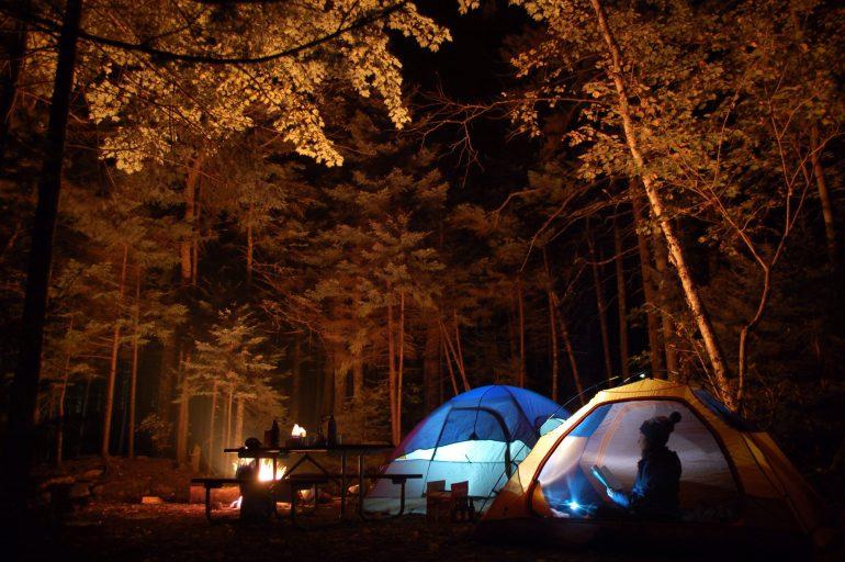 east coast camping