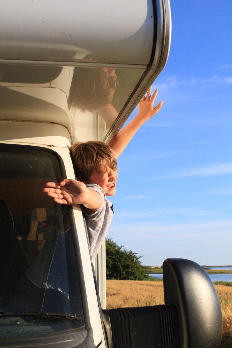 rv travel kids