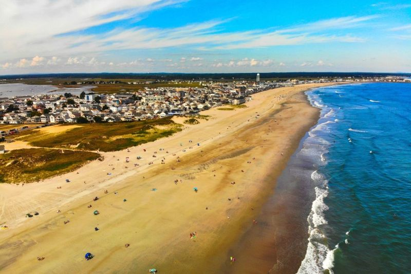 beaches in new england hampton beach